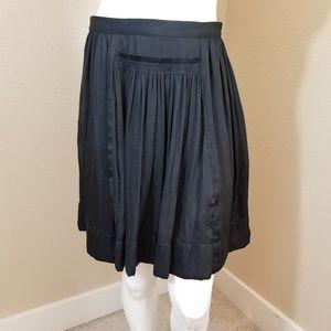 BANANA REPUBLIC Black Soft Goddess Skirt~Size 14